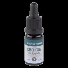 CBD Olie Bio 5% | MediHemp |