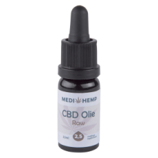 CBD Olie Raw 2,5% | MediHemp | Naturel